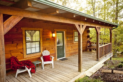 Tellico Plains Log Cabin Rentals With Hot Tubs Near